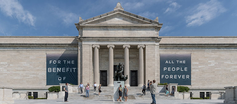 Photo of the Cleveland Museum of Art